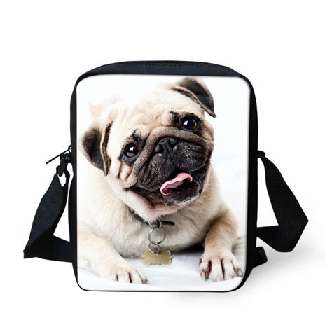 pug messenger bag aliexpress buy forudesigns pet cat animal bags for small messenger