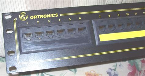 ortronics patch panel visio stencil ortronics patch panel visio stencil