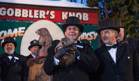 Punxsutawney Phil Gobblers Knob by Is Groundhog Day Becoming Just Another Forgotten