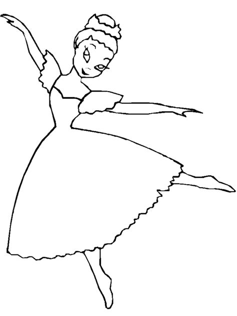 Ballerina Coloring Pages Coloring Town Ballerina Colouring Pages