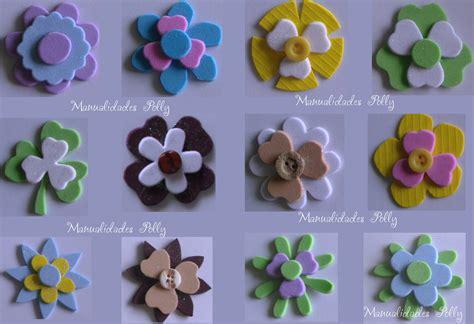 imagenes de flores fomix im 225 genes de flores en foami con caritas imagui