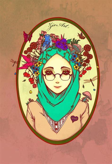 anime hijab gaul anime manga hijab art anime manga hijab pinterest