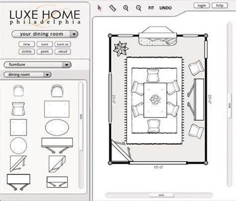 furniture room planner furniture room planner luxe home philadelphia
