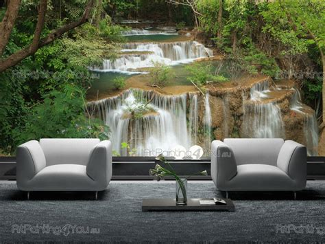 Waterfall Wall Murals wall murals waterfalls canvas prints amp posters waterfall