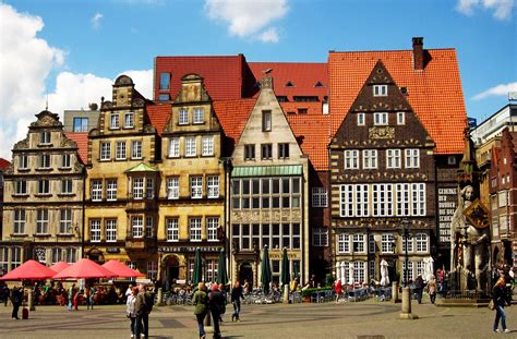 Beautiful Coffee by Bremen City In Germany Sightseeing And Landmarks