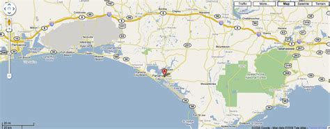 panhandle florida map map of florida panhandle area images