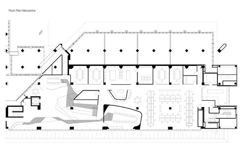 mezzanine floor plan house gallery of woods bagot melbourne studio woods bagot 24