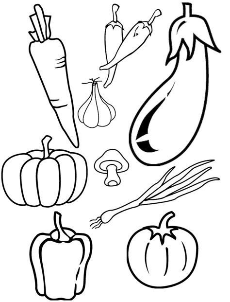 printable coloring sheets vegetables printable cornucopia