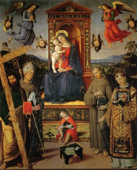 libreria santo roma madonna in trono e pinturicchio