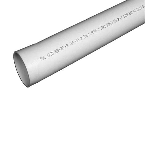 pipe 1 1 4 in x 10 ft plastic plain end pipe
