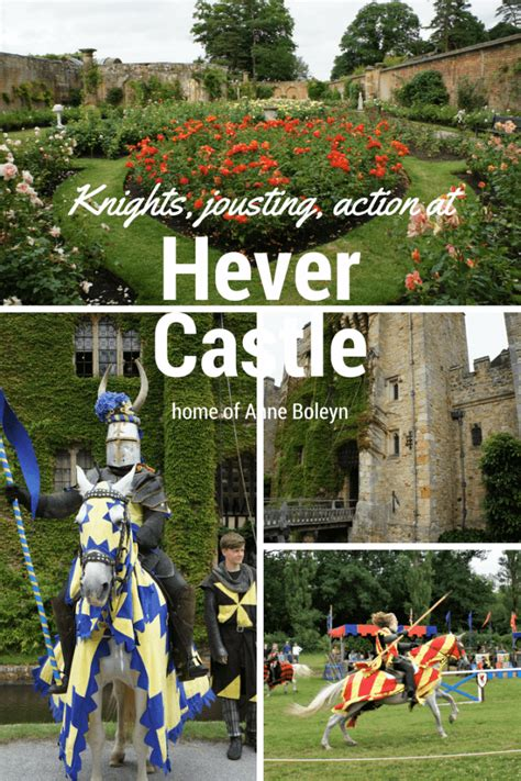 Joust Kidding by Hever Castle And Gardens Knights Jousting