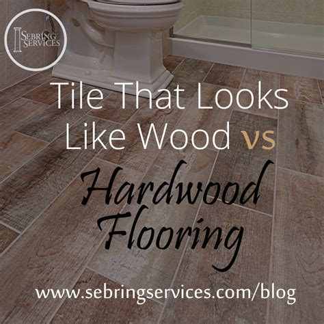 tile flooring that looks like wood tile that looks like wood vs hardwood flooring home