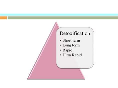 Ultra Rapid Detox Methadone by Opioids