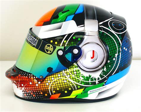 helm design karting tjello creations helmet paint home