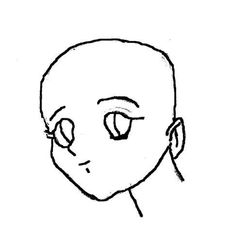 anime head template by afidanny on deviantart