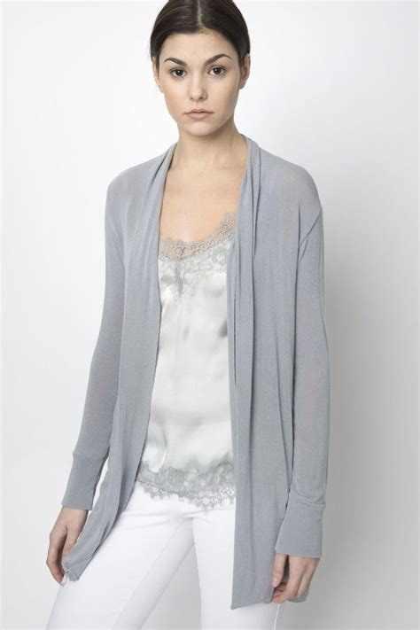 light sweaters for summer via strozzi light grey summer cardigan an ideal staple for