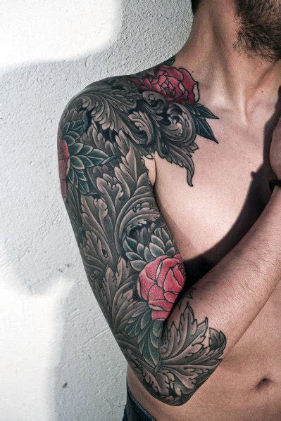 male rose tattoos top 35 best tattoos for an intricate flower