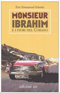 monsieur ibrahim e i fiori corano libro recensione monsieur ibrahim e i fiori corano di eric