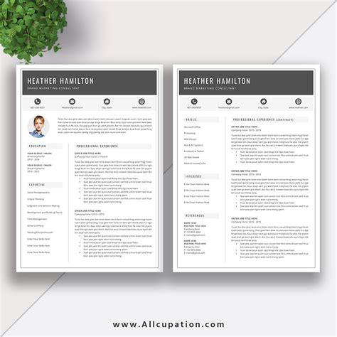 Resume Template Uva by Resumes Templates Resume Exle Sydney Resume