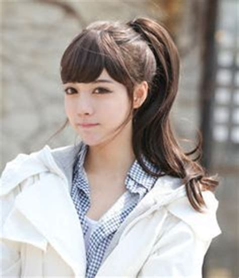 Korean Simple Hairstyle For School
