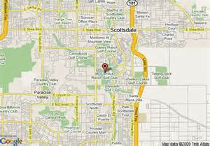 map of scottsdale resort and conference center scottsdale