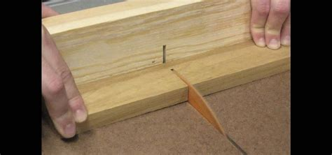 create  homemade crosscut sled   table