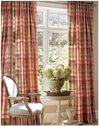 Country Curtains For Living Room Affordable Buffalo Check Curtains