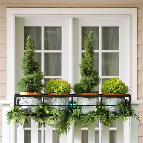 outdoor window box remodelaholic diy outdoor decor for winter