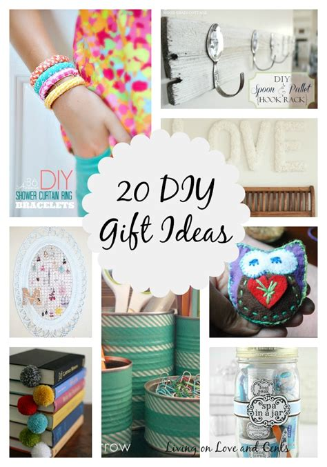 diy projects gifts 20 awesome diy gift ideas