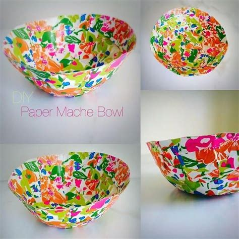 Paper Crafts For Seniors - paper mache bowl paper mache bowls paper mache and