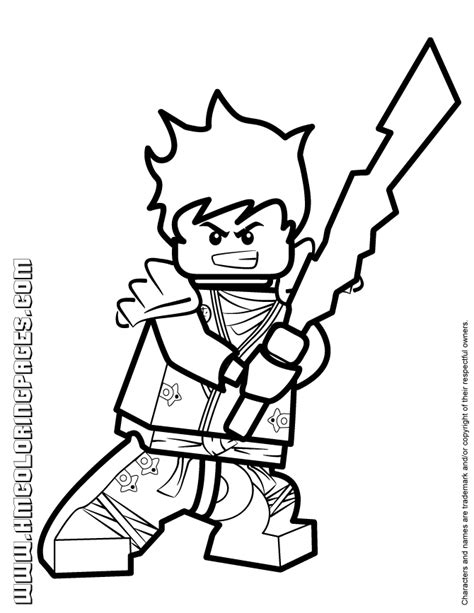 ninjago rebooted colouring pages