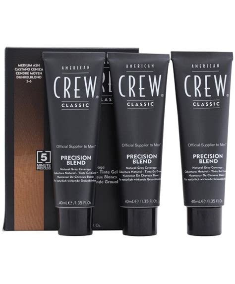 styling gel that covers grey hair american crew classic classic precision blend natural