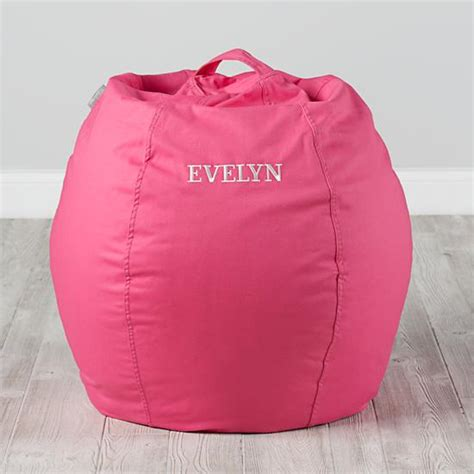 cool bean bag chairs 30 quot cool beans bean bag chair dk pink the land of nod