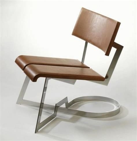 contemporary chair design unique leather chair designs iroonie com