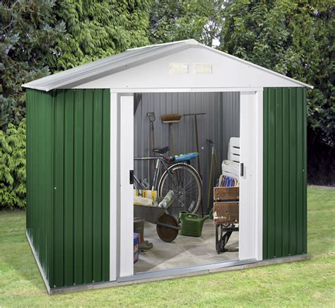 cobertizo horizontal keter plan drawing plastic outside storage sheds