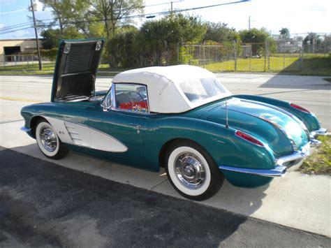 1958 corvette 283 ci 270 hp restoration