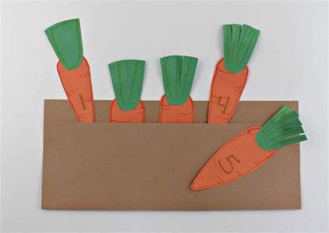 Garden Crafts For Preschoolers - carrot garden craft for preschoolers faith filled food for moms