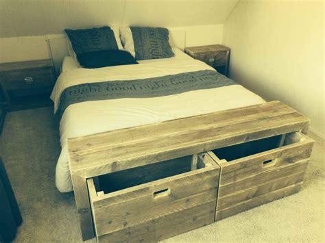 bed van steigerhout cool with jongensbed steigerhout