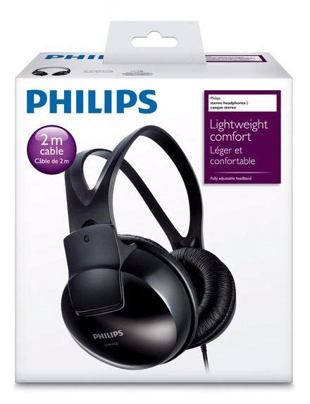 Headphone Philips Shp 1900 buy philips indoor shp1900 00 ear headphone black at low prices in india in