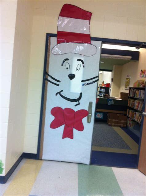 Cat Doors For Windows Decor Cat In The Hat Dr Seuss Read Across America Door Decor The Cat In The Hat Door Decoration