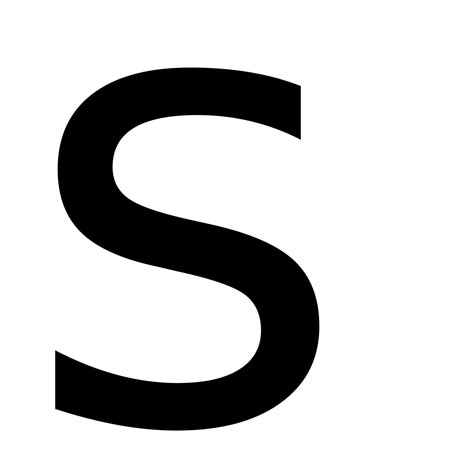 Letter S Images s wiktionary