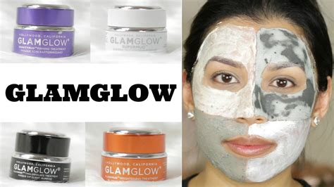 Masker Glamglow glamglow treatments review demo 4 masks