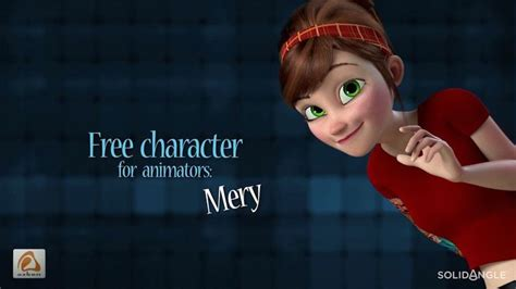 design game characters online mery rig free maya character rig female character