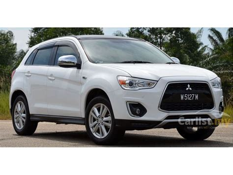 mitsubishi suv 2014 mitsubishi asx 2014 2 0 in sabah automatic suv white for