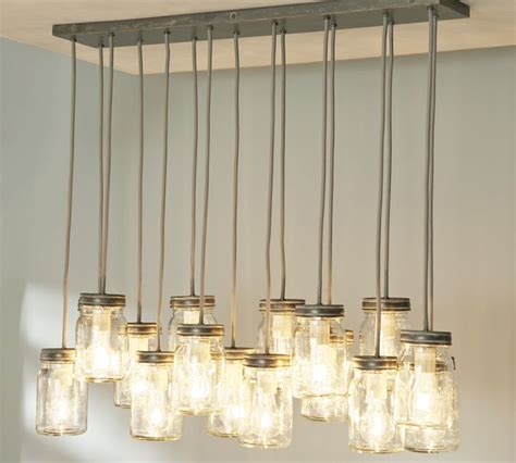 Pottery Barn Kitchen Lighting Diy Lals Pottery Barn Exeter Jar Pendants Decor Look Alikes