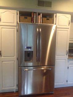 ideas    awkward space   fridge diy