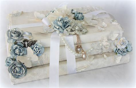 Tiffanys Paper Designs Altered Vintage Books Shabby Chic Shabby Chic Book
