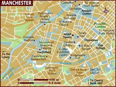 map uk manchester map of manchester