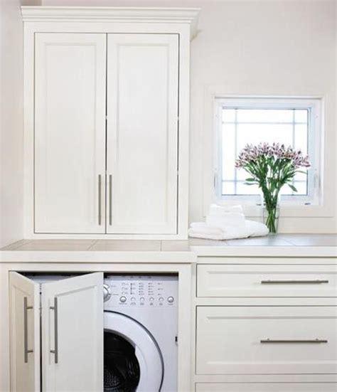 cabinets to hide washer and dryer hidden washer dryer by marissa kitchen mudroom bath