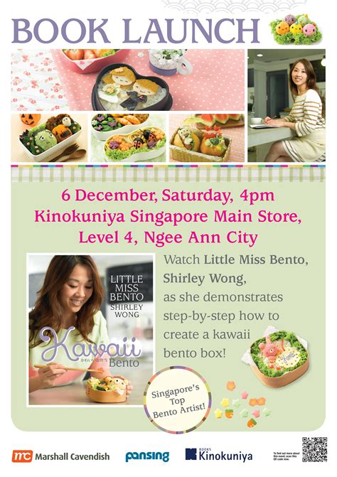 the just bento cookbook 2 make ahead easy healthy lunches to go books kawaii bento book signing at klcc miss bento